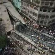 20 morts et une centaine de blessés dans l'effondrement d'un pont en Inde