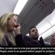 Un pilote de ligne annonce à l'un de ses passagers qu'il va être papa