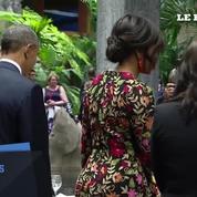 Dîner historique à Cuba: Barack Obama à la table de Raul Castro