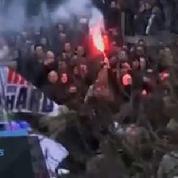 Bruxelles : des hooligans s'invitent place de la Bourse