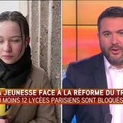 Les lycéens parisiens mobilisés contre un projet précarisant