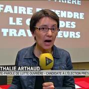 Nathalie Arthaud (LO) est candidate à la présidentielle de 2017