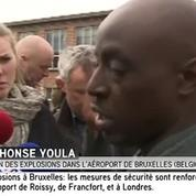 Un témoin des explosions de l'aéroport de Bruxelles décrit le chaos qui régnait après l'attentat