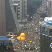 Les Brésiliens manifestent contre la corruption au sein de l'Etat