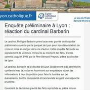 Affaire de pédophilie: Plusieurs personnes savaient, le cardinal Barbarin en fait partie