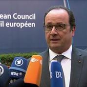 Si la Grèce n'est pas aidée, elle ne pourra pas faire face à la crise des réfugiés, selon François Hollande