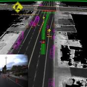 Les tests de la Google Car qui se conduit toute seule en pleine circulation