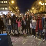 Les Belges rendent hommage aux victimes place de la bourse