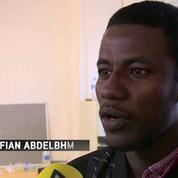 Portrait d'un réfugié soudanais à Londres