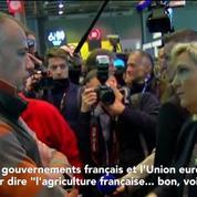 Marine Le Pen compare l'exécutif à un paillasson dans ses négociations avec l'Europe