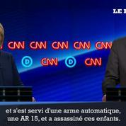 Clinton tacle le lobby des armes pendant le débat démocrate