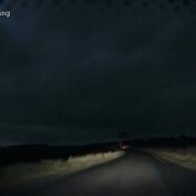 Un automobiliste filme un objet lumineux dans le ciel écossais