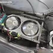 Le C1 de Lit Motor, un véhicule deux roues qui ne se renverse pas