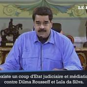 Le président du Venezuela dénonce «un coup d'Etat» au Brésil