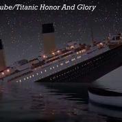 Une reconstitution du naufrage du Titanic en temps réel