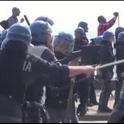 Italie : affrontements entre la police et des manifestants à Naples