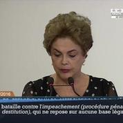Crise au Brésil : Dilma Roussef refuse d'abdiquer