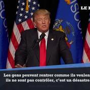Donald Trump s'en prend encore à Bruxelles