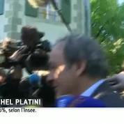 «On va gagner»: Michel Platini très confiant à son arrivée au Tribunal arbitral du sport