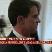 Manuel Valls : ''L'amitié entre l'Algérie et la France dépasse les petits problèmes