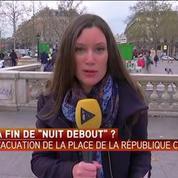 Nuit Debout pourra reprendre lundi soir malgré l'évacuation de la place de la République
