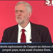 Panama papers: Jeremy Corbyn attend une réaction du gouvernement britannique