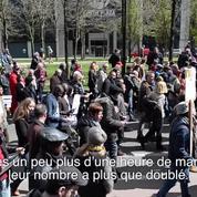 A Bruxelles, la marche contre la terreur réunit près de 7000 personnes