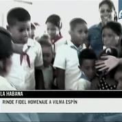 Fidel Castro fait une apparition publique