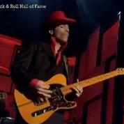 Prince : son incroyable solo de guitare au Rock & Roll Hall of Fame