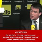 Loi travail : Manuel Valls regrette la