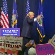 La une fictive du Boston Globe contre Donald Trump