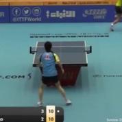 Tennis de table: un point interminable à l'Open du Koweït