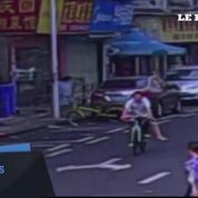 Chine: dans un accès de violence, cette femme veut détruire des voitures