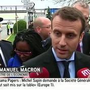 Emmanuel Macron sur les Panama Papers :