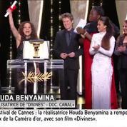 Cannes : «Il faut plus de femmes !» pour Houda Benyamina, lauréate de la Caméra d'or