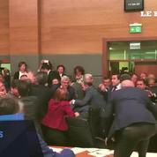 Nouvelle bagarre générale au Parlement Turc