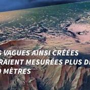 Des tsunamis géants auraient redessiné Mars