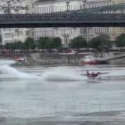Un pilote évite un crash de justesse lors d'une tentative de record du monde