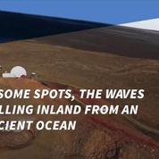 Massive tsunamis towered over Mars 3 billion years ago