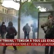 Des affrontements ont eu lieu entre casseurs et forces de l'ordre près des Invalides à Paris