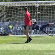 Zlatan Ibrahimovic marque - encore - un but sensationnel à l'entraînement