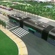 Chine : Un gigantesque bus anti-embouteillages bientôt sur les rails