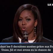 Michelle Obama s'invite à