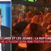 Les 18-25 ans placent François Hollande en quatrième position au 1er tour de l'élection présidentielle