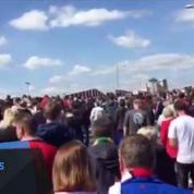 Le stade Old Trafford évacué, Manchester United-Bournemouth annulé
