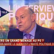 Motion de censure à gauche - Jean-Marie Le Guen : C'est allé trop loin (...) Les choses doivent être clarifiées
