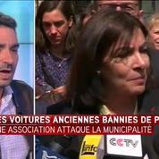 Voitures anciennes interdites : une association attaque la mairie de Paris
