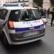 Les images de l'attaque de la voiture de police à Paris