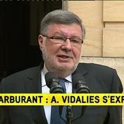 Blocages : La situation s'améliore, pour Alain Vidalies