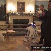 Star Wars Day : les Obama s'offrent une petite danse avec R2D2